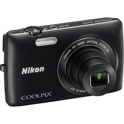 Nikon Coolpix S4300 1 nikon coolpix s4300 digital black 26305 b h photo