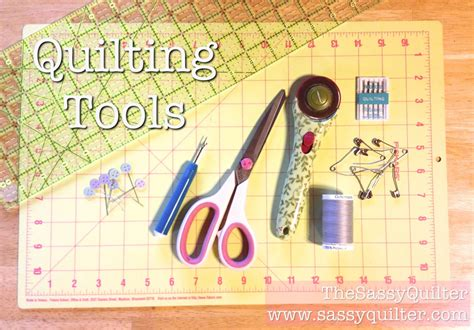 Quilting Tools by Beginner Quilt Series Archives The Sassy Quilter