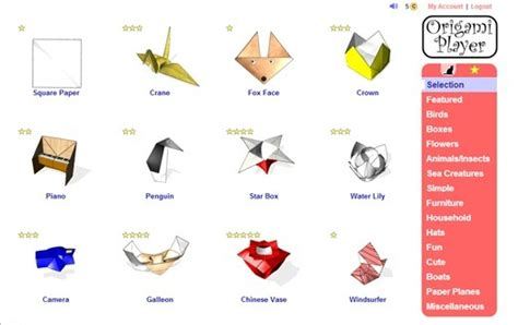 Origami Player Free - tutorial to learn origami using origami player