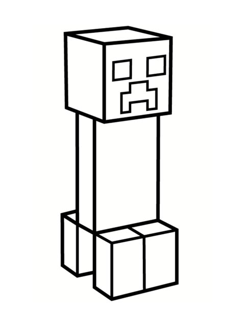minecraft skin coloring coloring pages