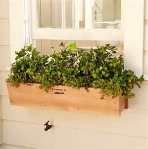 cedar window box traditional outdoor pots and planters