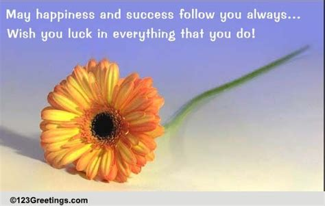 luck    good luck ecards greeting cards