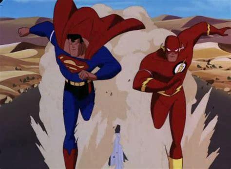 Tas Motif Superman dossier flash vs superman courses de l 233 gende dcplanet fr