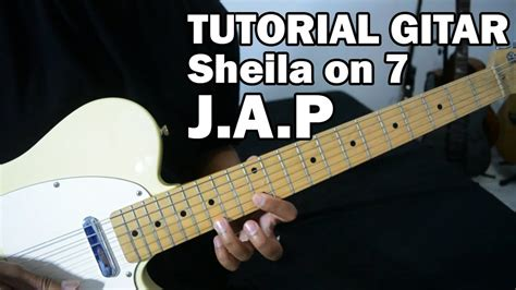 tutorial gitar 14 tutorial gitar sheila on 7 j a p full youtube