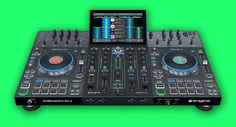 dj prime denon dj prime 4 announced the world s 4 channel