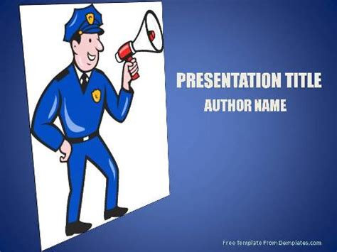 powerpoint templates law enforcement law enforcement jobs powerpoint template demplates