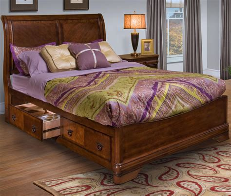 new classic california king storage bed w