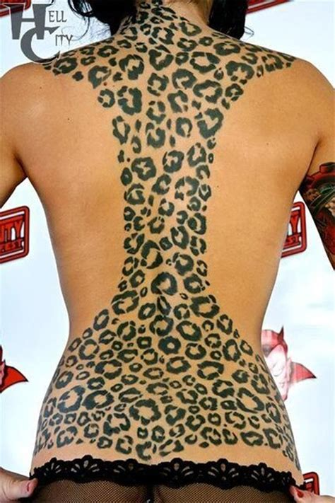 leopard print tattoos designs leopard tattoos and designs page 3