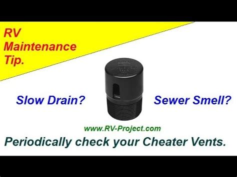 Cheater Valve Plumbing by Camco Cyclone Rv Plumbing Vent