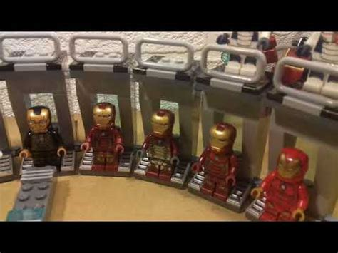 lego iron man marvel super heroes collection iron