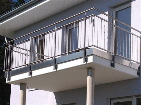 balkongeländer edelstahl metallbau kliewer balkongel 228 nder