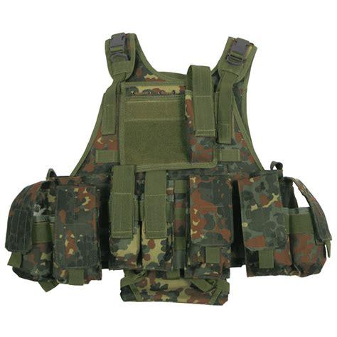 molle vest mfh tactical molle vest ranger flecktarn vests 1st