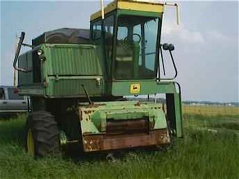 Used Farm Tractors For Sale 4400 John Deere Combine 2004