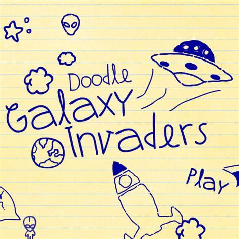 doodle galaxy invaders portfolio chaos creative