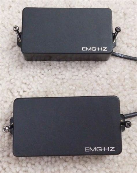 Emg Garage by Emg Hz H4 Set Of 2 With Connect Cables And Screws