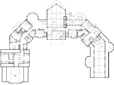 petenwell estate lodge floor plan by wisconsin log homes