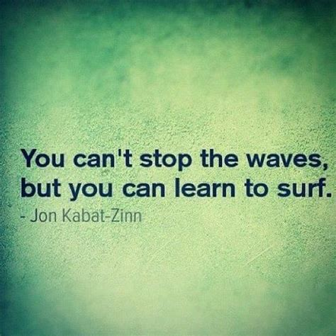 How To Get An Mba When You Cant Affort It by You Can T Stop The Waves But You Can Learn To