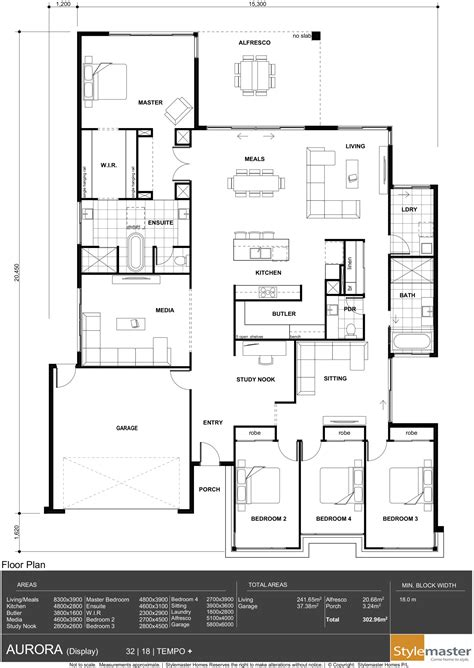 home design blueprints 32 18 stylemaster homes