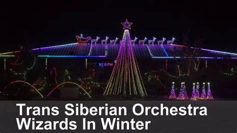 lights trans siberian orchestra wizards in