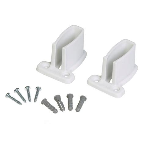 Closetmaid Wall Brackets Closetmaid 3 In Wall Bracket For Wire Shelving 71926