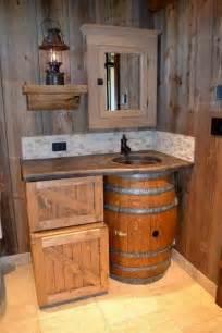 Primitive Bathroom Wall Cabinets 30 Ideas De Decoraci 243 N Para Ba 241 Os R 250 Sticos Peque 241 Os