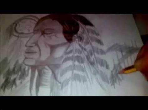 imagenes para dibujar indigenas dibujo a lapiz paso a paso indio youtube