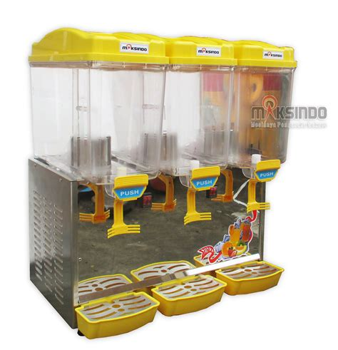 Mesin Juicer Dispenser juice dispenser buffet dispenser 2 tabung toko mesin