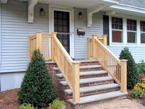 wooden front porch railings craftsman craftsman porch