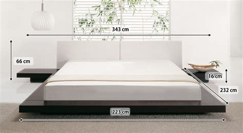 japanisches futonbett japanisches design holz bett japan style japanischer stil