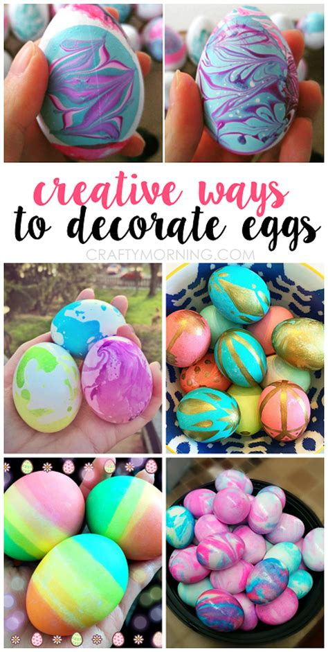dying easter eggs creatively s creative ways for to decorate easter eggs crafty