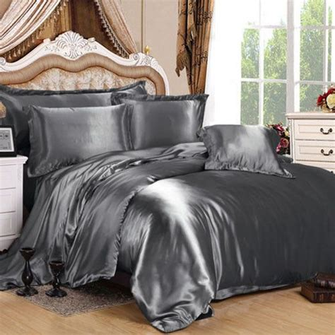 grey silk comforter 5625 best images about satin on pinterest satin blue