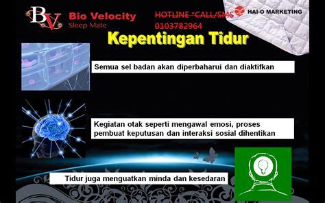 Mimpi Banyak Tidur Kurang bio velocity sleep mate tidur selesa sepanjang malam