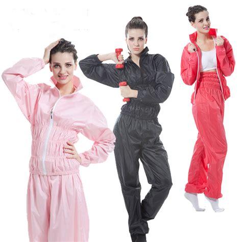 Sauna Suit Baju Celana Sauna Slimming Suit clothing weight loss slimming suit sauna suit set sauna shirt running
