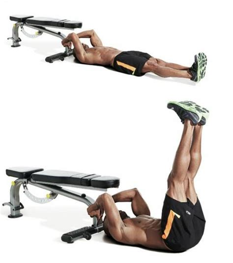abdominal bench workouts the best bodyweight abs workout men s fitness