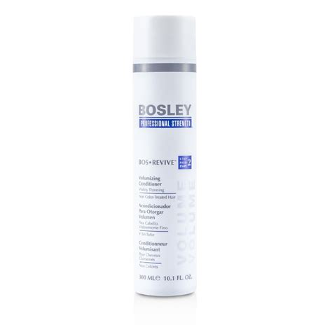 volumizing shoo for color treated hair bosley professional strength bos revive volumizing