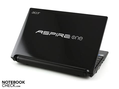 Notebook Acer Aspire One N550 review acer aspire one d255 netbook n550 notebookcheck