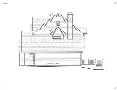 Design Photos 5732 by Cottage House Plan With 3 Bedrooms And 2 5 Baths Plan 5732