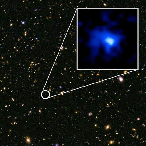How Fast Is A Light Year by Fast Forming Galaxy Sitting 13 1 Billion Light Years Away