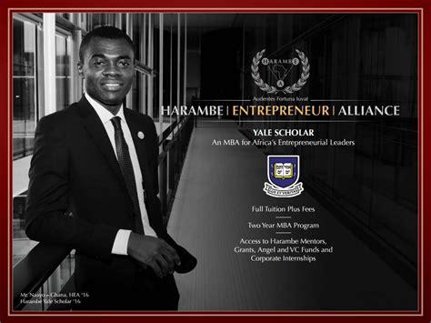 Yale Mba Scholarship by Harambe Entrepreneur Alliance Fully Funded Scholarships