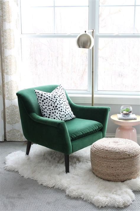 reading chair for bedroom best 25 green chairs ideas on pinterest emerald green