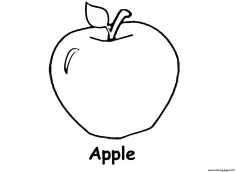 apple coloring pages to print apple fruit s5057 coloring pages printable