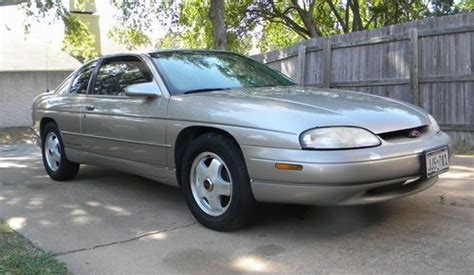 how to fix cars 1999 chevrolet monte carlo electronic toll collection buy used 1999 chevrolet monte carlo z34 coupe 2 door 3 8l in plano texas united states for us