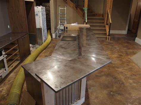 stainless steel bar tops volcanic stainless steel bar countertops contemporary