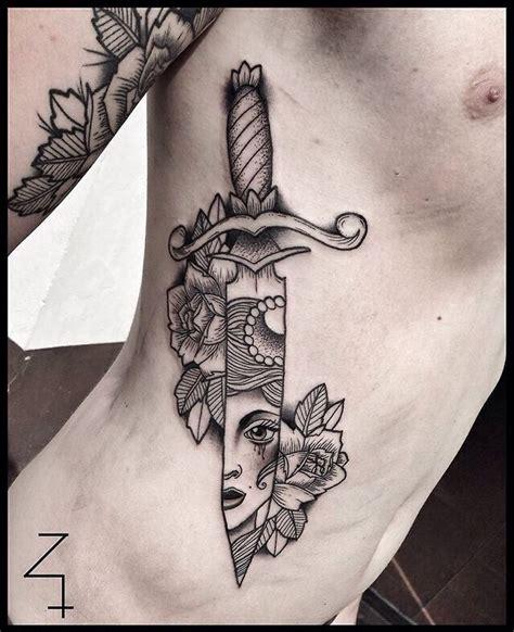 ink and dagger tattoo zmierzloki pl tatuajes more