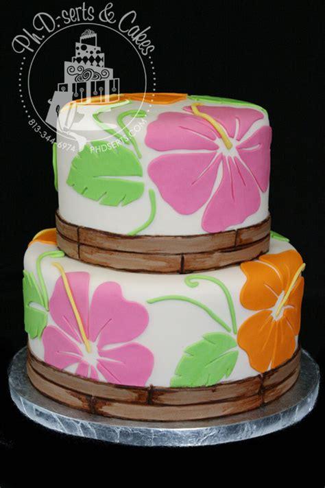 Hawaiian Baby Shower Cake hawaiian baby shower cake ph d serts cakes