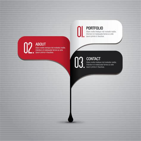 free layout graphic design business infographics steps layout design template