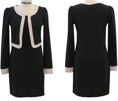 dress kerja wanita modern model terbaru jual murah