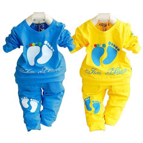 2015 autumn baby clothing set 100 cotton newborn