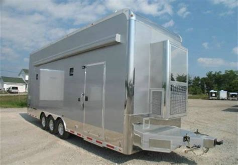 the forest open boat door all aluminum atc car hauler stacker trailer advantage