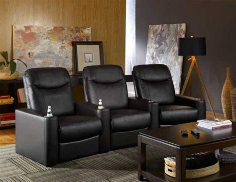 argonaut home theater seating leather power recliner